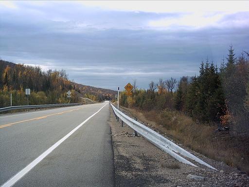 À mi-chemin entre St-Donat et Lac-Supérieur